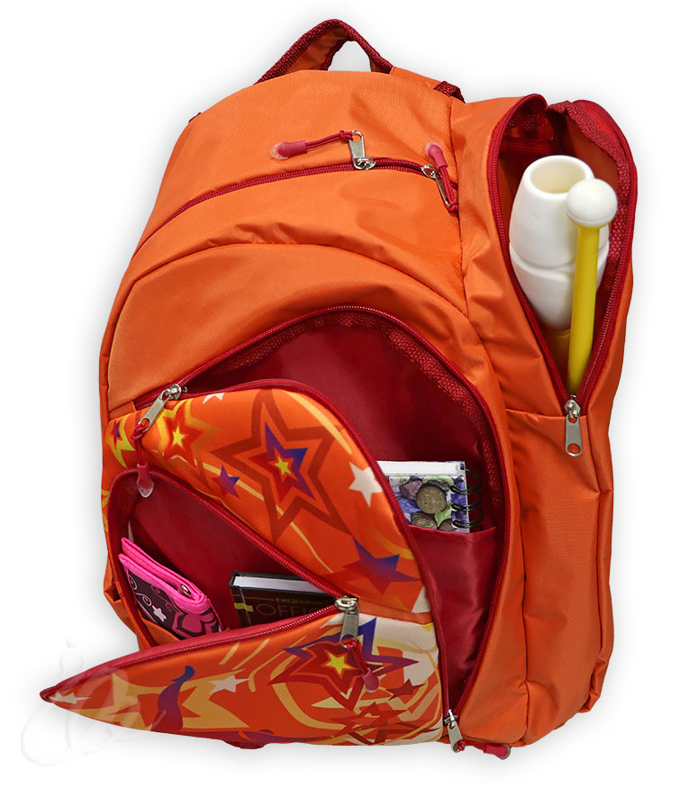 собранный гимнастический рюкзак